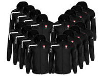 Team Pack - 16x Kids or Adults Cordoba Spray Jacket - Black