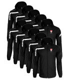 Team Pack - 10x Kids or Adults Cordoba Spray Jacket - Black