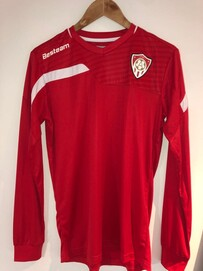 Clearance Besteam Cordoba Long Sleeve  Jersey - Red with AUFC logo